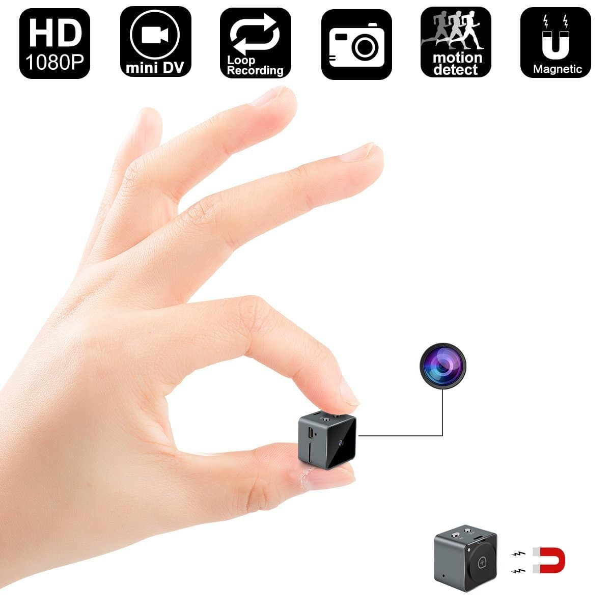 Mini Hidden Camera From Digihero