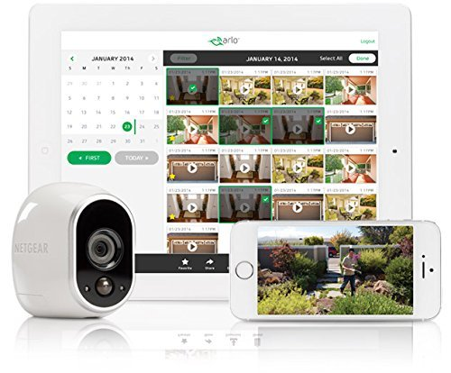 Arlo Security Camera By Netgear (Indoor And Outdoor Use)