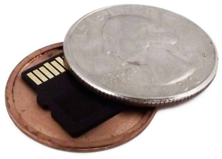 Micro SD Card Covert Coin From CCS Spy Gear