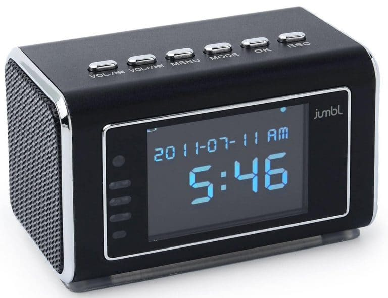 Mini Hidden Spy Camera Radio Clock From Jumbl