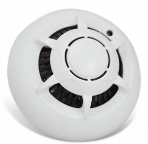 Smoke detector camera