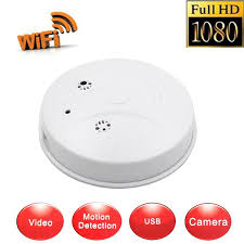 Hidden Camera Spy Camera Smoke Detector