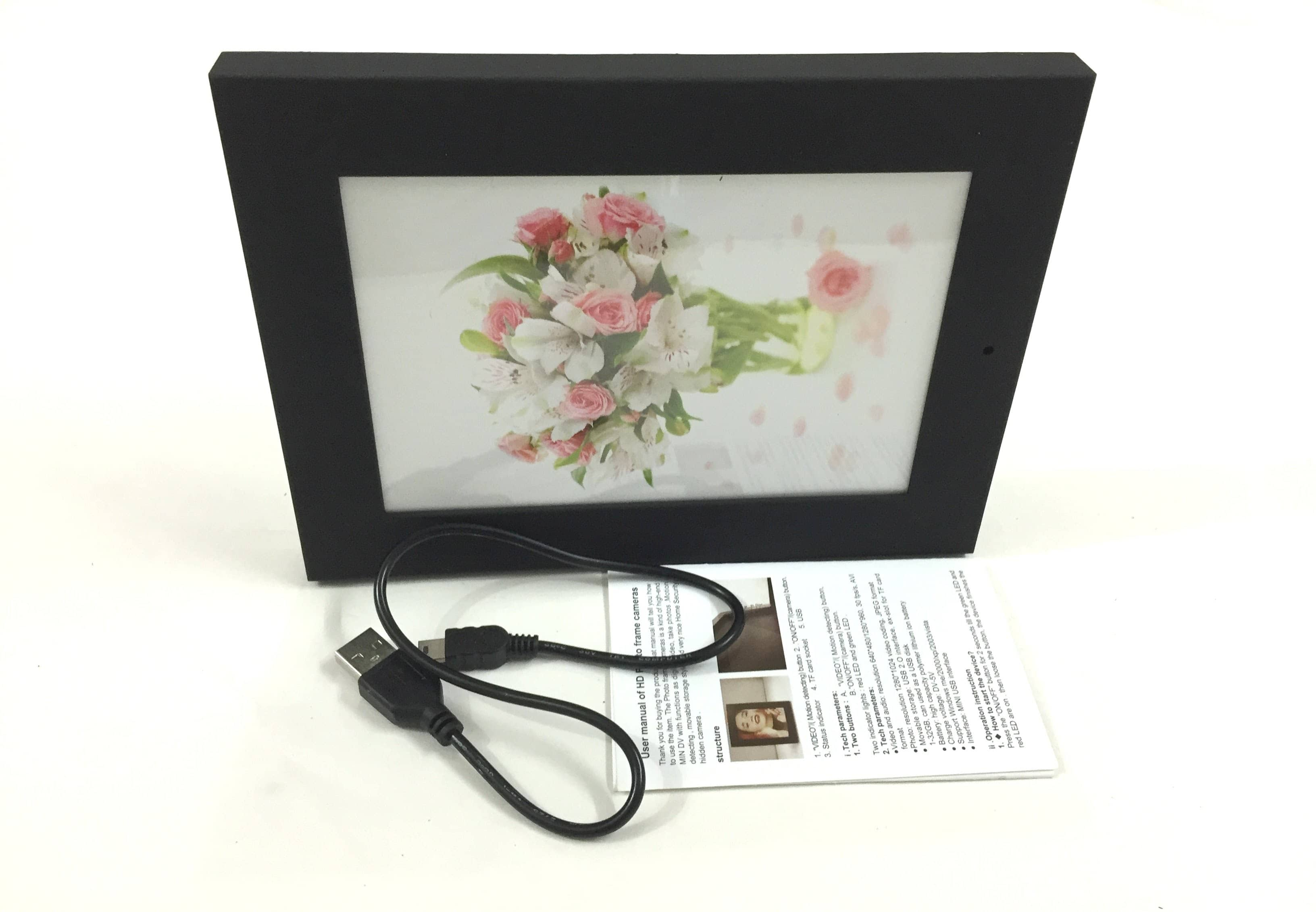 Spy Camera Picture Frame