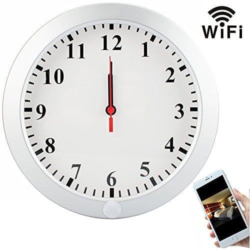 Hidden Camera In Clock