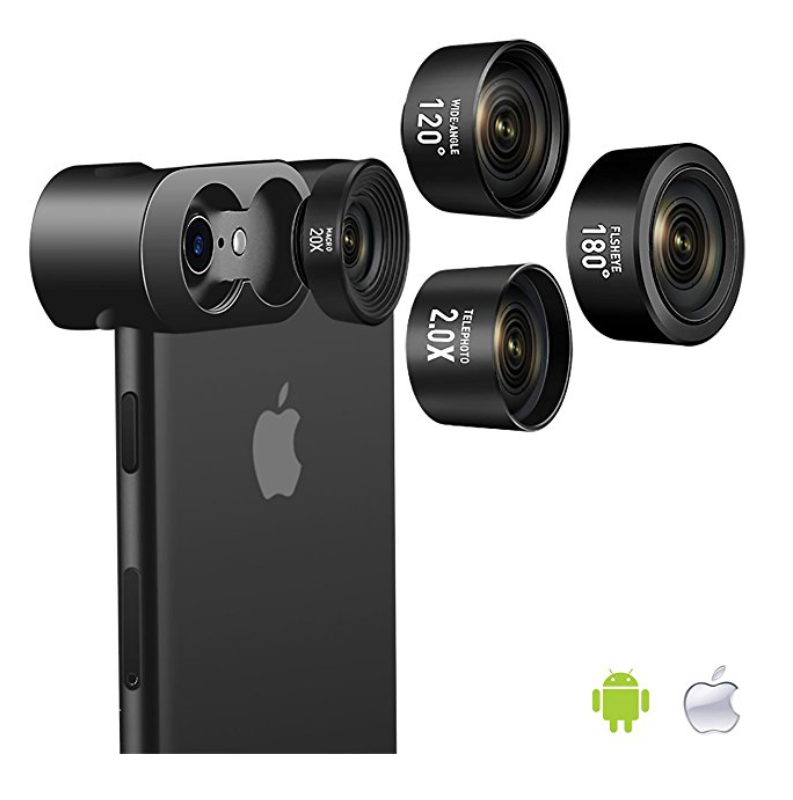 Jopree 4 in 1 Cell Phone Camera Lens Kit